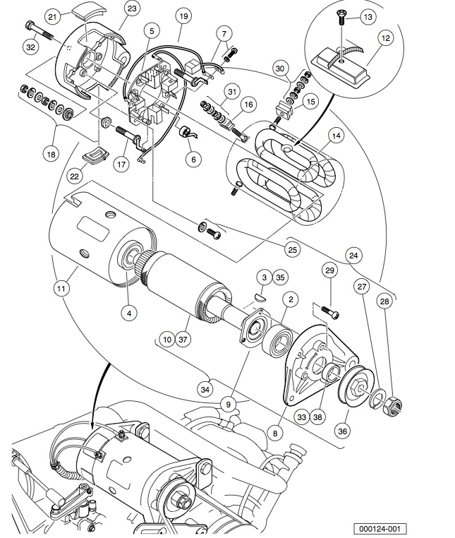 Gasoline Engine Cylinder Head Diagram Com