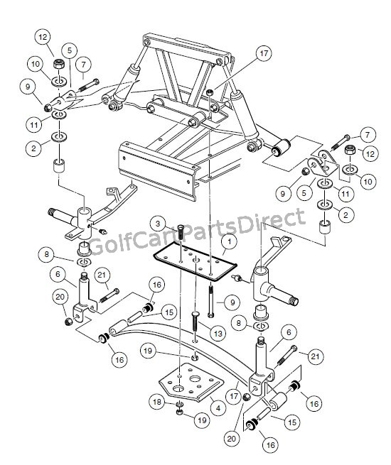 dodge dakota suspension parts diagram club car suspension parts diagram front suspension, lower- turf/carryall 1 and turf/carryall ... #12