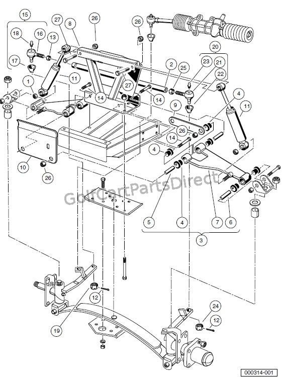 carry all club car ke parts diagram  carry  free engine