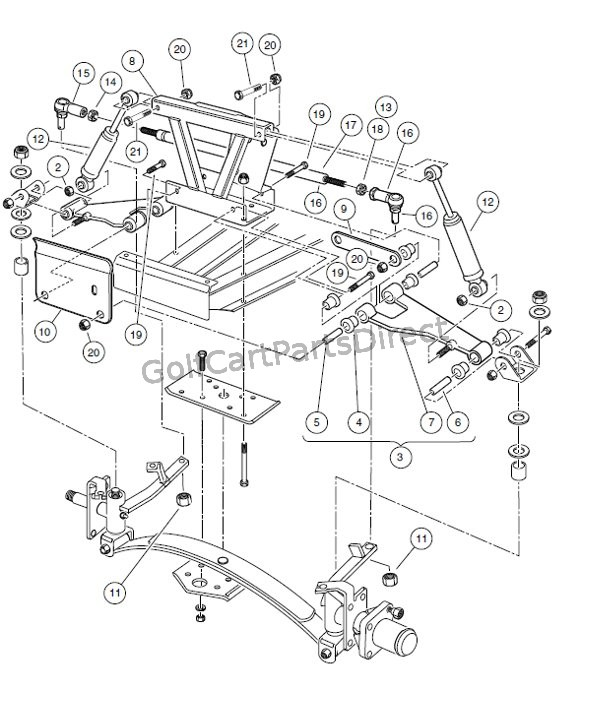Club Car Carryall 1 Wiring Diagram
