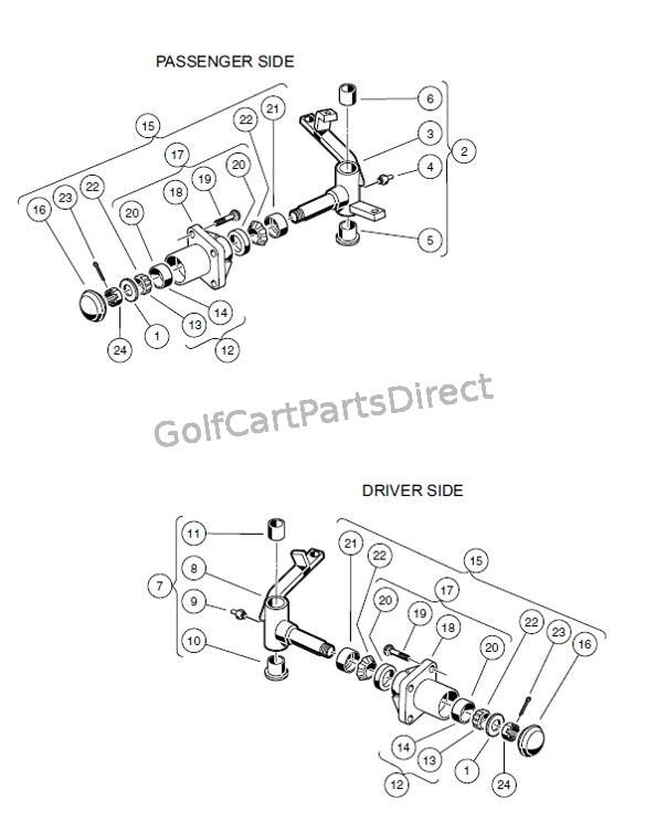 club car carryall turf 2 parts manual