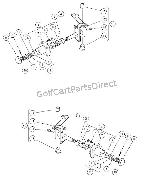 FRONT SPINDLES AND HUBS – VEHICLES WITH FOUR-WHEEL BRAKES