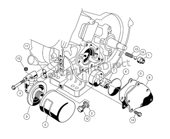 Engine - Fe290 Engine  U2013 Oil Circulation