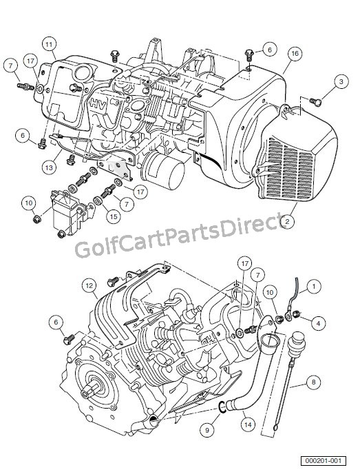 ENGINE - AS11 FE350 ENGINE WITHOUT ACR – SHROUDS AND BRACKETS
