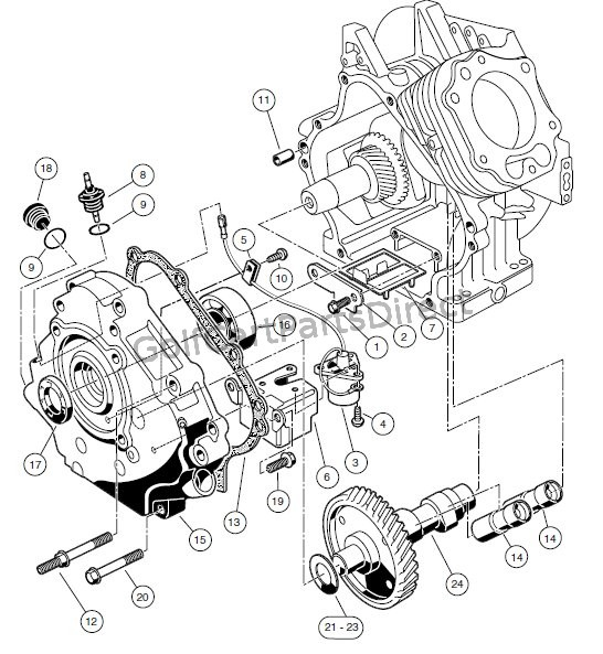 Club Car Kawasaki Engine Diagram