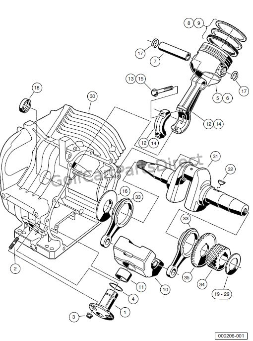 ENGINE - AS11 FE350 ENGINE – CRANKCASE AND CRANKSHAFT