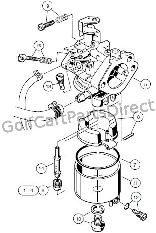 CARBURETOR ASSEMBLY � FE290