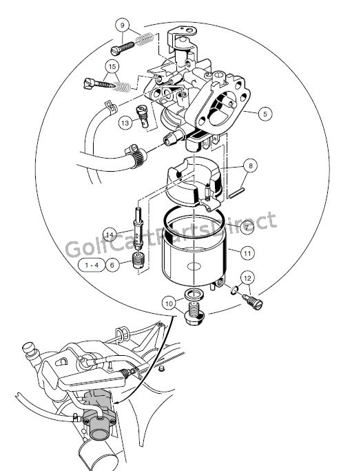 CARBURETOR ASSEMBLY � FE350