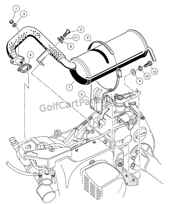 EXHAUST SYSTEM � FE290 ENGINE