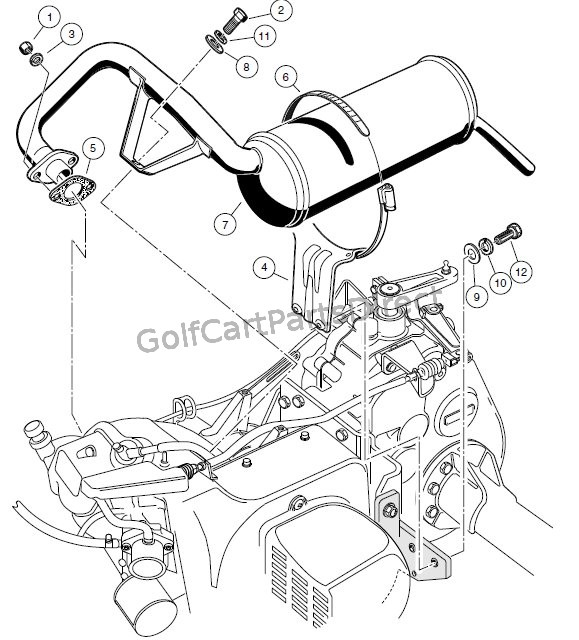 EXHAUST SYSTEM – FE350 ENGINE