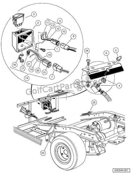 91 club car carry all wire diagram