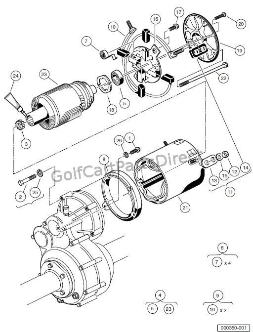MOTOR (MODEL 5BC59JBS6360) - POWERDRIVE
