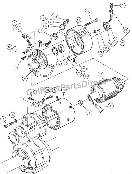 MOTOR (MODEL EJ4-4001) – ELECTRIC VEHICLE