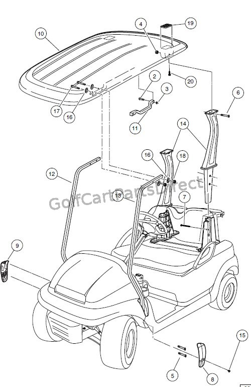 Image Result For Electric Golf Cart Gas Pedal