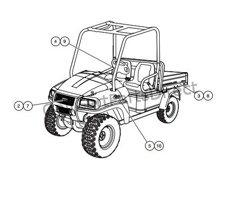 badging decals – ca 295 vehicles