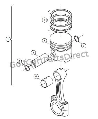 Golf Cart Brake System