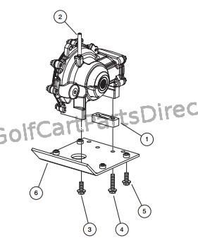 FRONT DIFFERENTIAL MOUNTING PLATE