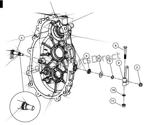 yamaha golf cart governor parts diagram