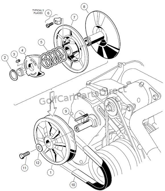 driven clutch