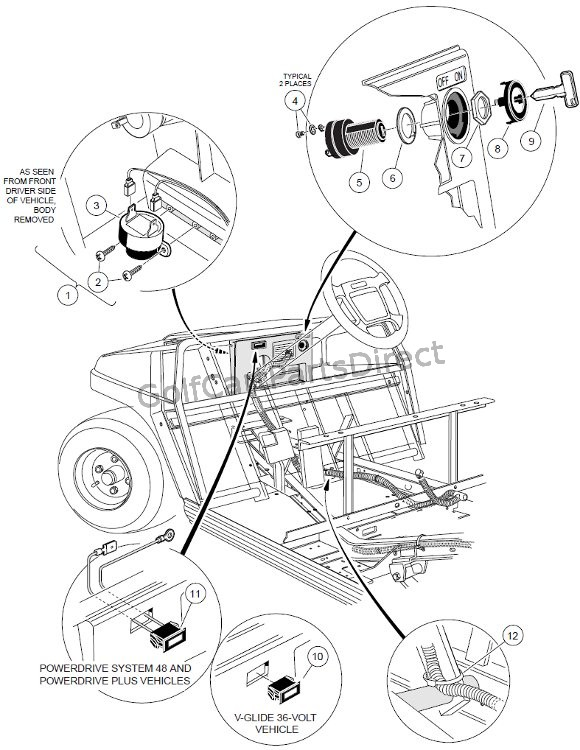 Electrical Components - Front Body - Electric
