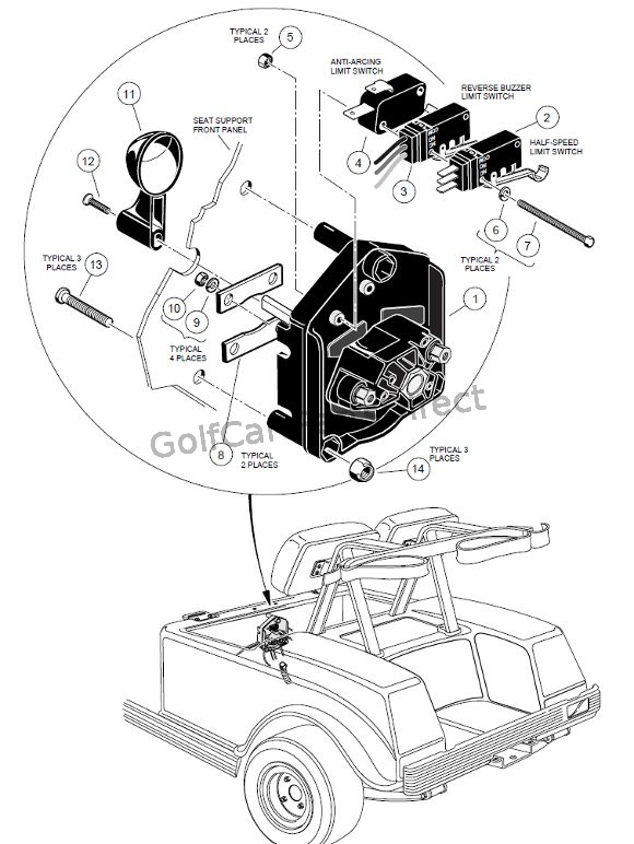 on Club Car Precedent Wiring Diagram