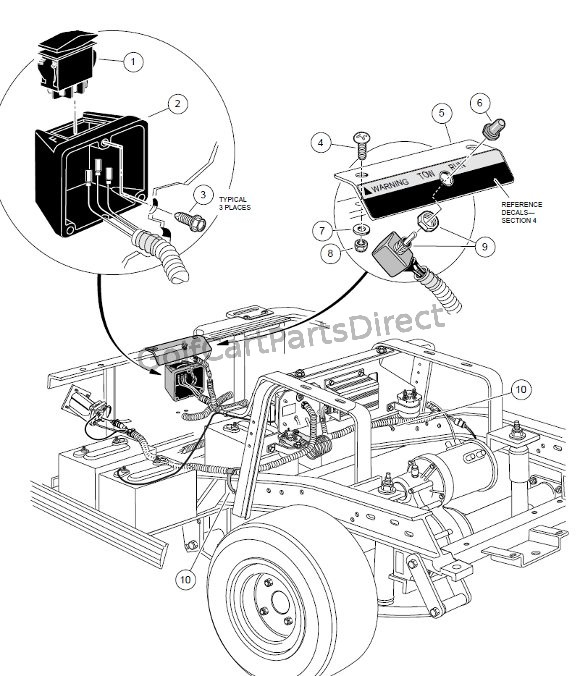 1999 Club Car Wiring Diagram
