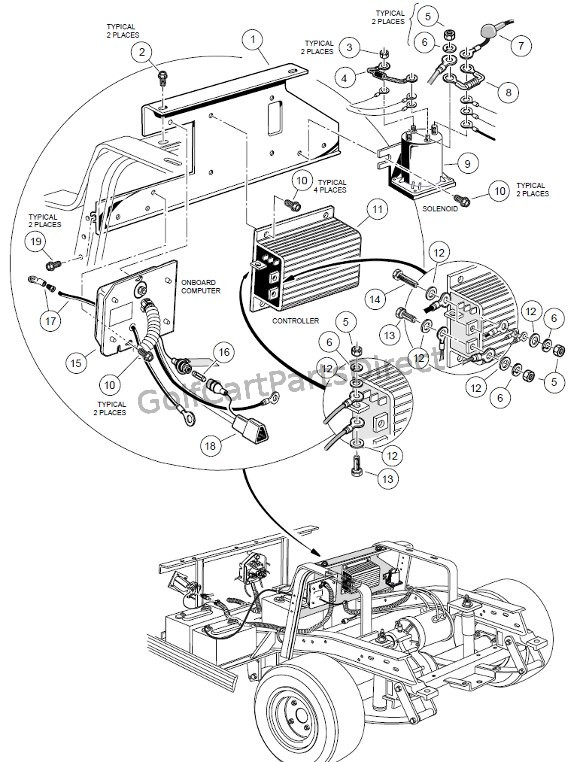 1991 Club Car Wiring Page 2 club car forward reverse switch ...  Club Car Wiring Diagram Gas on club car parts diagram, club car 36v batteries diagram, club car electrical diagram,