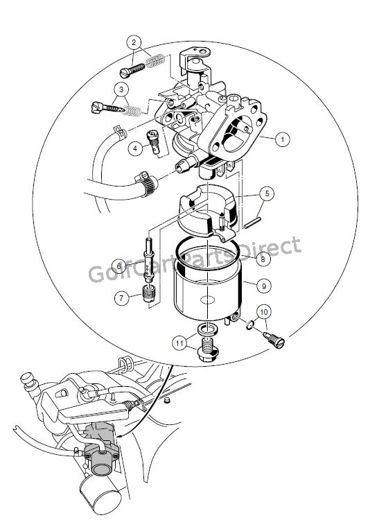 Carburetor Assembly  Fe350 Engine