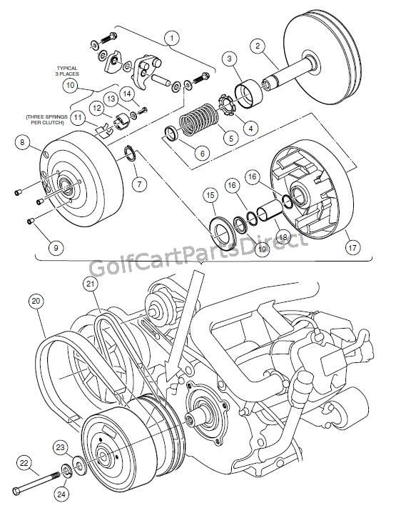 Club Car Motor Diagram