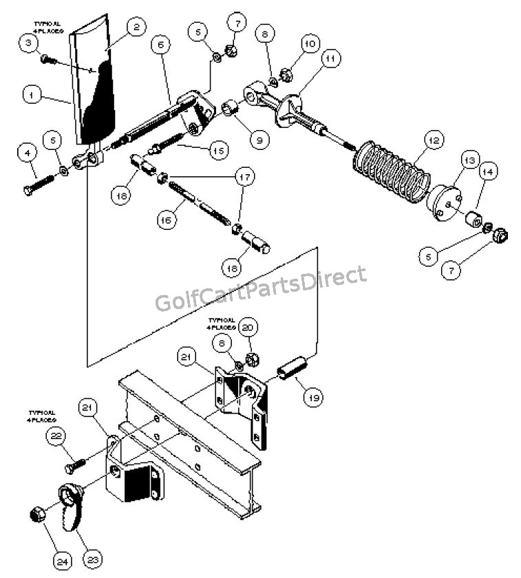 accelerator pedal assembly - gasoline vehicle