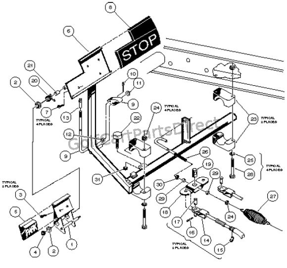 Club Car Carry All Parts Diagram Wiring Diagram