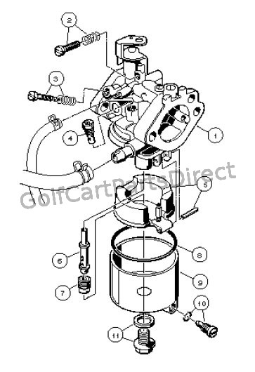 carburetor assembly  fe290