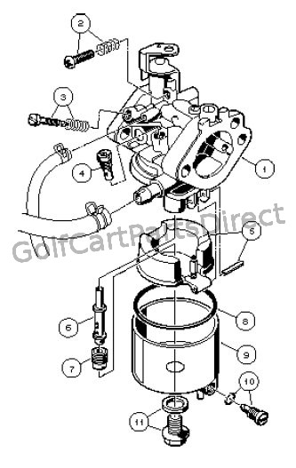 Carburetor Assembly, FE350