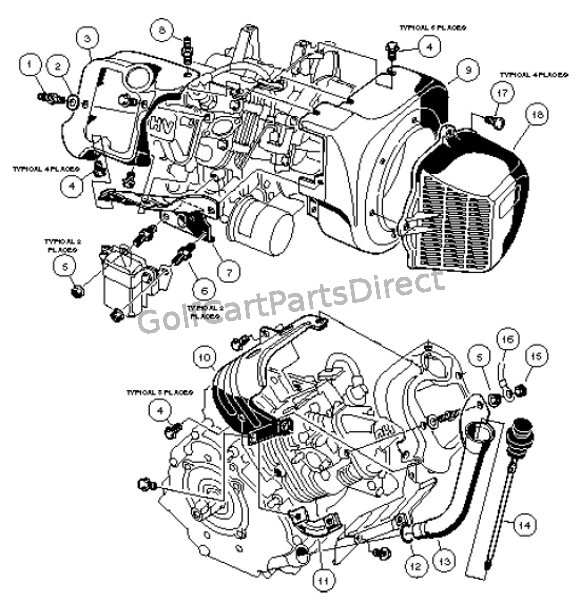 FE 290 Engine – Carryall 1 & 2 – Part 1