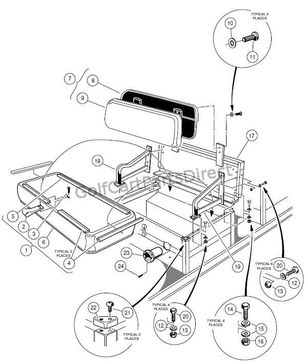 club car carryall 2 engine diagram