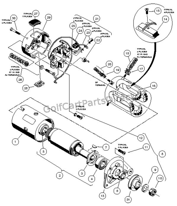 starter  generator assembly