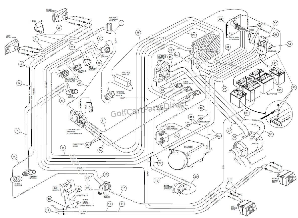 01 club car wiring diagram wiring diagram Club Car Wiring Diagram 01 club car precedent wiring diagram