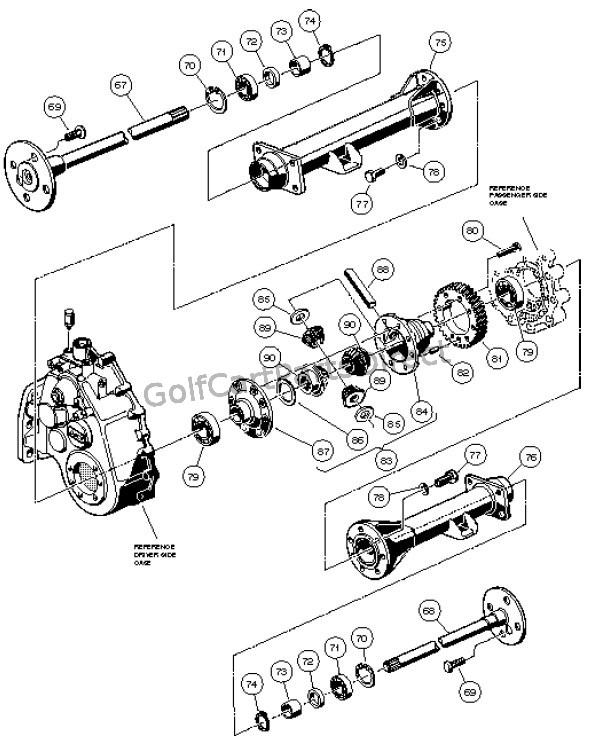 UNITIZED TRANSAXLE - GASOLINE VEHICLE � PART3