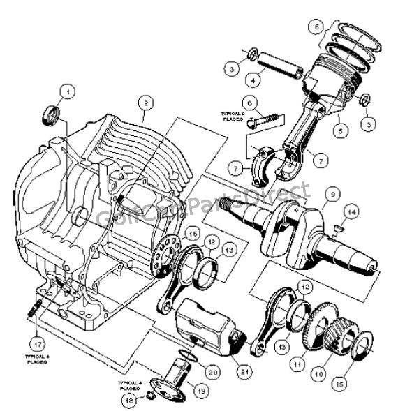 Club Car Engine Parts Diagram Online Wiring Diagram