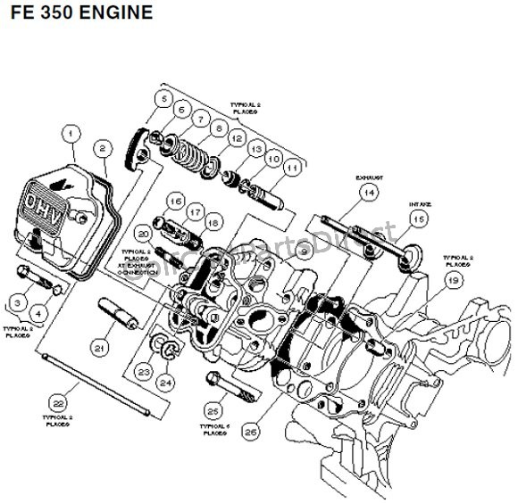 FE 350 Engine - Carryall 2 plus and 6 � Part 4