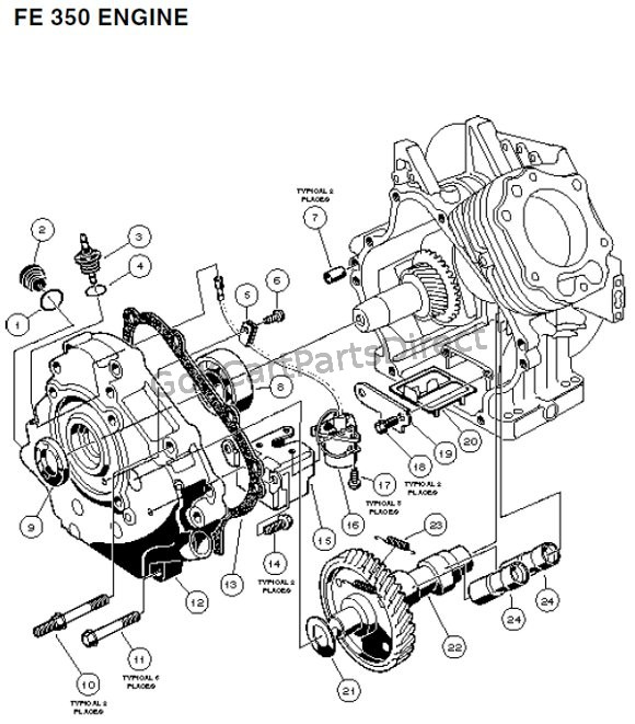 fe 350 engine - carryall 2 plus and 6  u2013 part 5