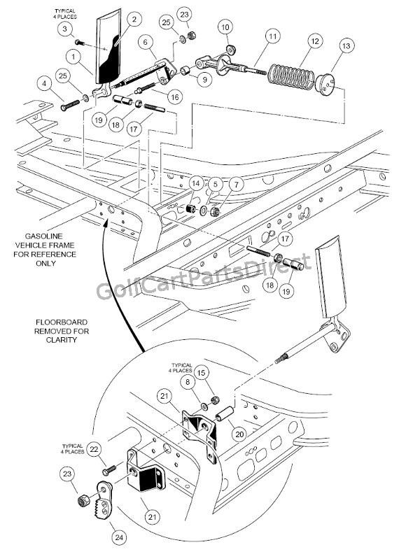 1999 yamaha g16 gas wiring diagram 1998 1999 club car ds gas or electric golfcartpartsdirect  1998 1999 club car ds gas or electric