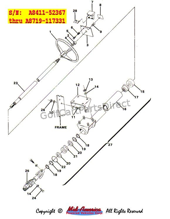 Steering Assy. - Part 1