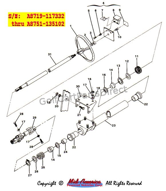 Steering Assy. - Part 2