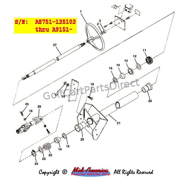 Steering Assy. - Part 3