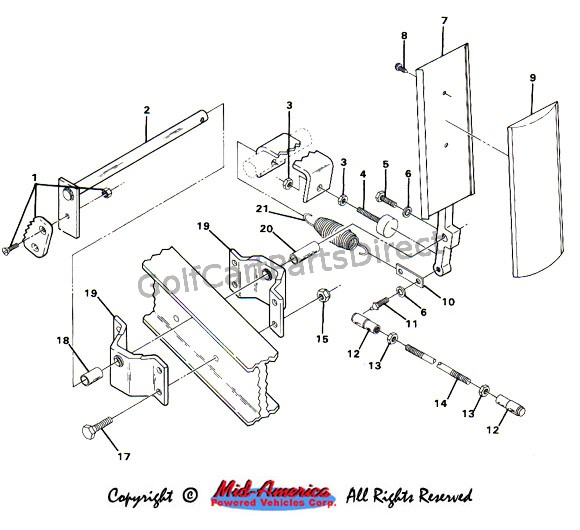 1984 club car gas golf cart wiring diagram