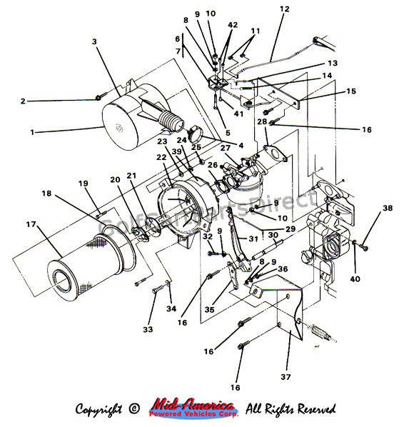 Par Car Wiring Diagram from golfcartpartsdirect.com
