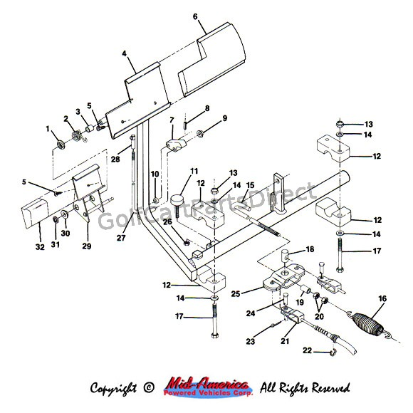 yamaha golf cart wiring diagram 48 volt  u2013 the wiring