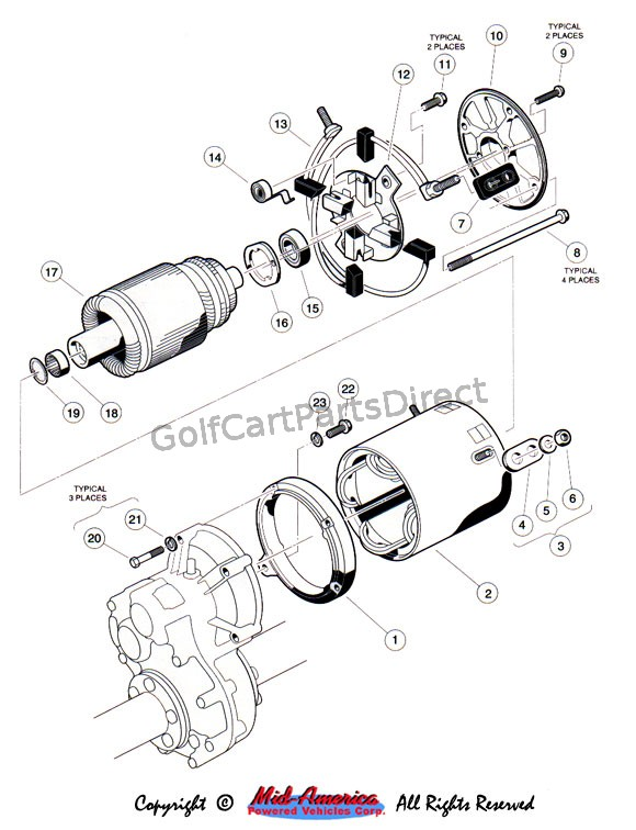motor - 48v