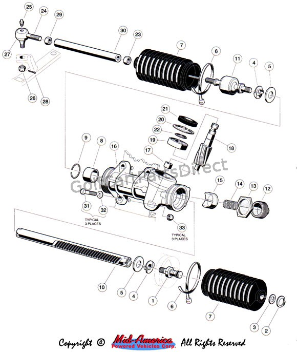 Steering Gear Assembly